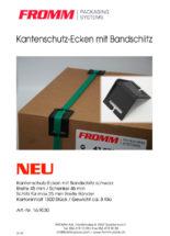 Kantenschutz mit Bandschlitz