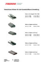 Verschluss-Hülsen für die Kunststoffband-Umreifung