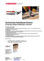 Sicherheits-Stahlband-Scheren