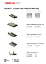 Verschluss-Hülsen für die Stahlband-Umreifung